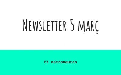 Newsletter 5 de març
